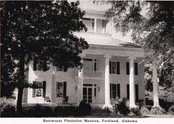 Rosemount Plantation: Mansion of History   The Plantation Trail
